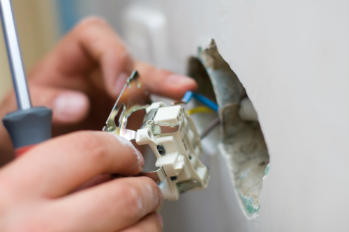نصب قوطی کلید برق